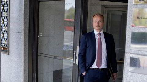 Norgessjef i McKinsey Frithjof Norman Lund tror inntektsveksten er vedvarende.