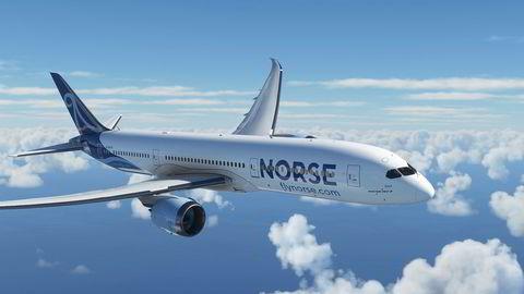 Norse Atlantic tar sikte på å kapre store markedsandeler i flymarkedet. Her er selskapets Dreamliner Boeing 787.