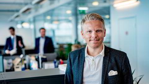 Landssjef Anders Skar i Nordnet Norge. Selskapet opplevde sterk vekst i første kvartal.