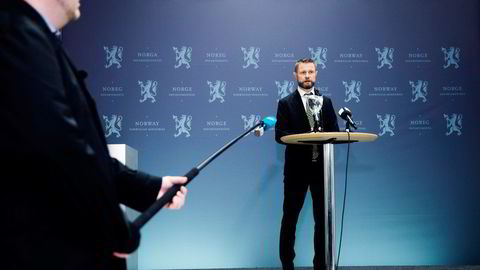 Helseminister Bent Høie annonserer lørdag en rekke lettelser for Oslo-regionen.