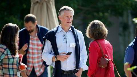 Ole Andreas Halvorsen fra Fredrikstad leder et av USAs største hedgefond, Viking Global Investors. Her er han avbildet på en teknologi-konferanse i Idaho, USA.