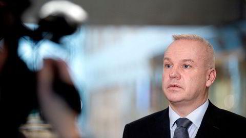 – Vi er ikke der vi skal være med vårt sikkerhetsarbeid, sier Equinor-sjef Anders Opedal.