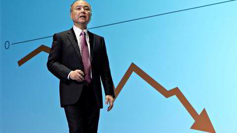 Softbanks eksentriske toppsjef Masayoshi «Masa» Son har sett sin Kahoot-investering halvert siden januar.