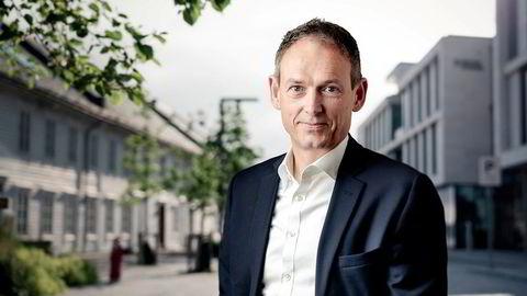 Toppsjef Morten Holum i Hexagon Purus er fornøyd med milliardavtalen.