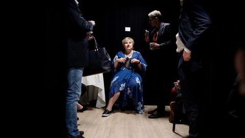 Erna Solbergs Høyre har falt med fem prosentpoeng siden mars og står i fare for å gjøre det dårligste valget siden 2009 da partiet fikk 17,2 prosent i stortingsvalget.