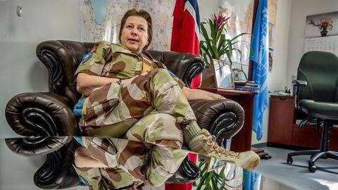 Kristin Lunds siste toppjobb i FN var som styrkesjef for UNTSO i Jerusalem.
