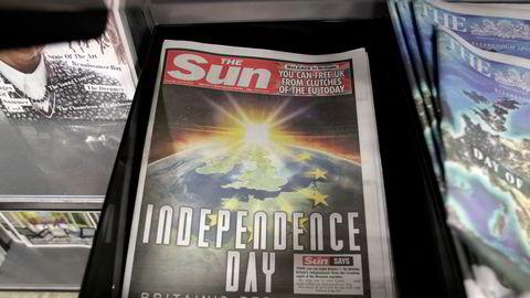 Fem år siden britene sa nei til EU og The Sun kunne erklære uavhengighetsdag.