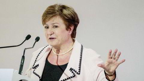 Kristalina Georgieva ble sjef i Det internasjonale pengefondet (IMF) i september 2019.