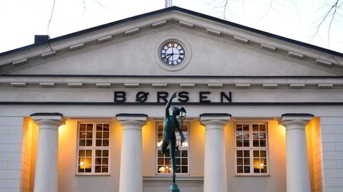 Oslo Børs falt over én prosent torsdag.