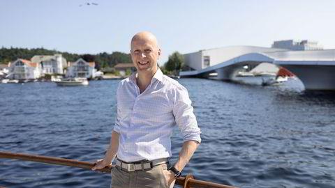 Atle Hauge i Odin Forvaltning mener flere banker er attraktivt priset på Oslo Børs.