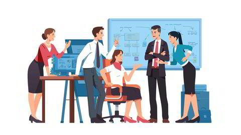Fra tid til annen blir det på jobben friksjoner og tydelige interessemotsetninger, og av og til krangel som dessverre kan munne ut i konflikter.