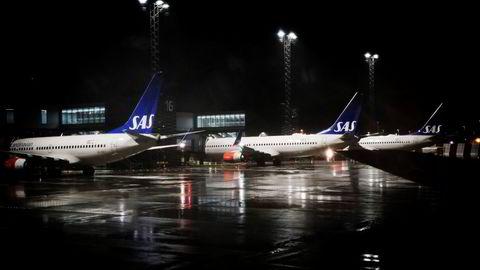 SAS har lansert planene for to datterselskaper der all vekst skal skje på vei ut av pandemien, og planene ble endret etter forhandlinger om kostnadskutt. Bildet er fra Oslo lufthavn.