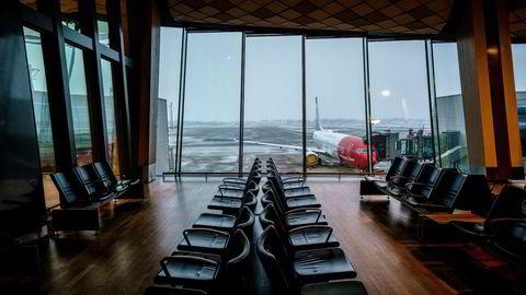 Norwegian er i ferd med å komme seg gjennom en økonomisk redningsplan. Her fra Oslo lufthavn.