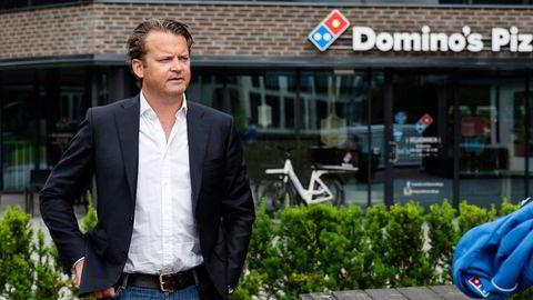 Eirik Bergh, styreleder og medeier i Domino's Pizza Norge.
