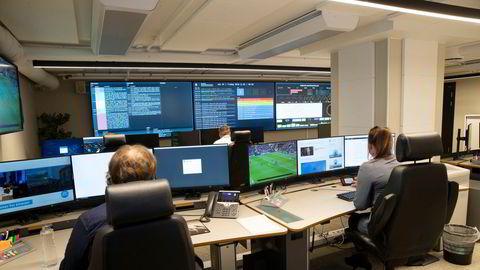Operasjonssenteret til Nasjonalt cybersikkerhetssenter som overvåker alvorlig digitale angrep i Norge.