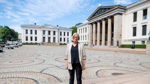 For mange finner veien hit til Universitetet istedenfor praktiske utdannelser ifølge Senterpartiets parlamentariske leder Marit Arnstad.