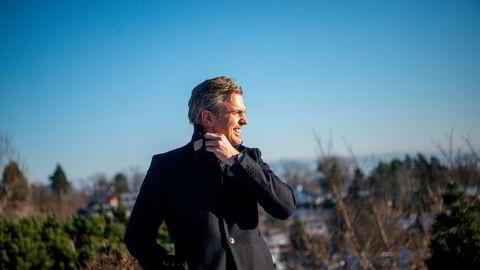 Christian Ringvold er administrerende direktør i oppstartsselskapet Hagal som satser på gjenbruk av litium-batterier.