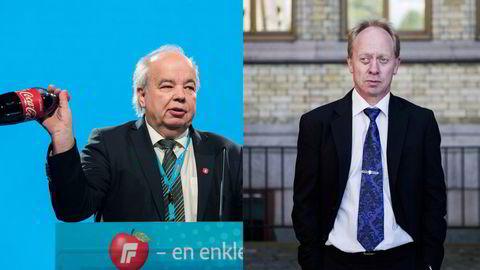 Advokatfirmaet Grette ser på sakene til to politikere: Per Roar Bredvold (til venstre) og Jan Arild Ellingsen.