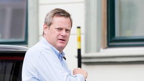 Nasdaq Clearing får en advarsel og en bot på 300 millioner svenske kroner etter Einar Aas-saken i 2018. På bildet er Einar Aas.