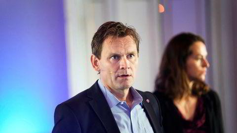 Nel la torsdag frem sin rapport for andre kvartal. Her representert ved toppsjef Jon André Løkke fra en tidligere anledning.