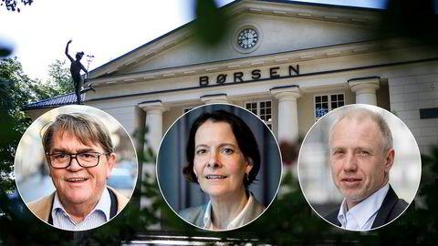 Jan Petter Sissener, investor og porteføljeforvalter, investeringsdirektør Alexandra Morris i Skagenfondene og porteføljeforvalter Kristian Tunaal deler sine tanker om børsåret og 2021.