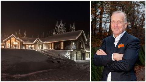 Ifølge megleren har det allerede vært stor pågang rundt hytta til 27 millioner kroner på Hafjelltoppen. Den er oppført av eiendomsinvestor Lars Windfeldt (til høyre).