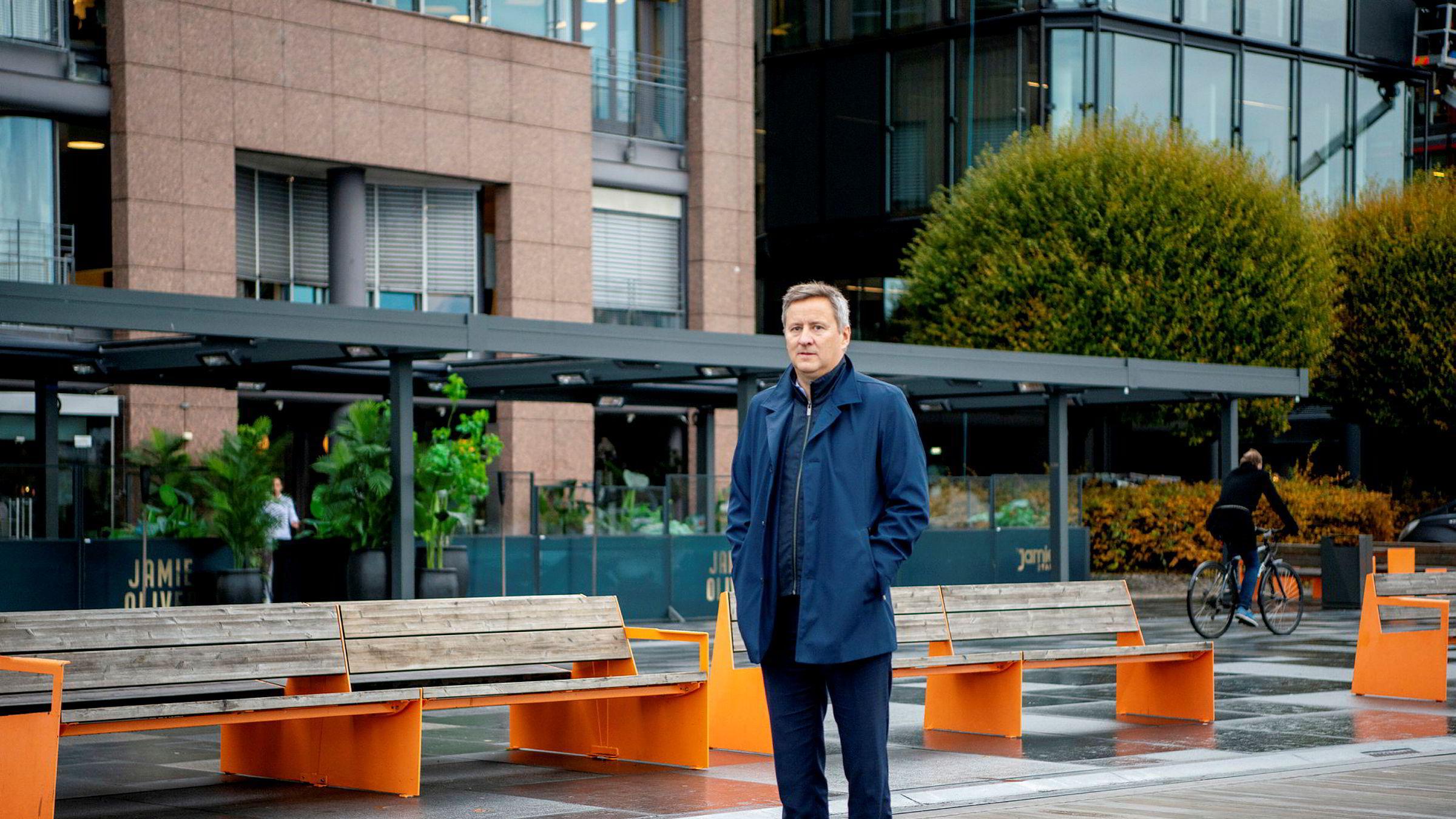 Frank Jullum, sjeføkonom i Danske Bank, tror selv ikke på noe rentekutt i nær fremtid.
