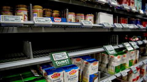 Hjemmebakst har aldri vært så populært, i alle fall hvis man skal legge gjærsalget til grunn. Coop Mega på Sjølyst i Oslo er blant de mange butikkene som er tomme for gjær.