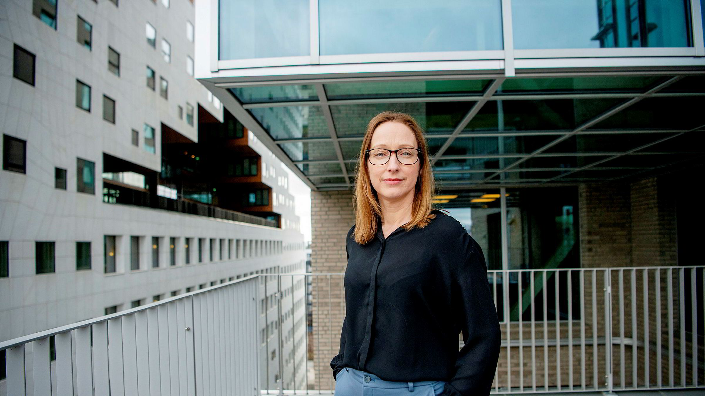 Sjeføkonom Kjersti Haugland i DNB Markets venter en sterkere krone om et års tid.