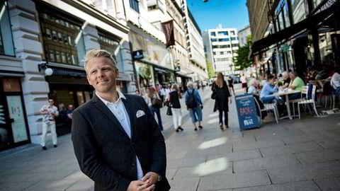– Det har ikke vært noen stor kundeflukt, forteller Norgessjefen i Nordnet, Anders Skar, om responsen etter at nettmegleren i juni varslet om en ny prismodell på fond. Bildet er fra 2017.
