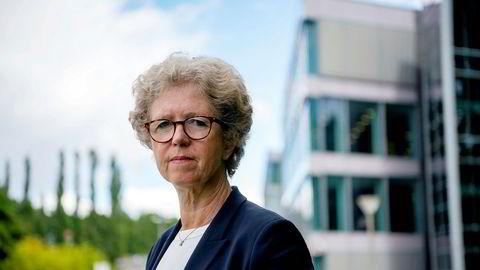 Administrerende direktør Hilde Merete Aasheim ønsker ikke å spekulere i om den amerikanske straffetollen deres tyske datterselskap er påført kan være politisk motivert.