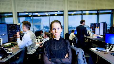 Ingvild Borgen Gjerde i DNB Markets mener det finnes faresignaler for en korreksjon i aksjemarkedet.