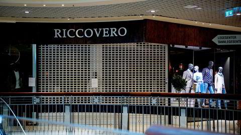 Ricco Vero er konkurs. butikk i Byporten.