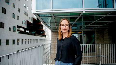 Kjersti Haugland, sjeføkonom i DNB Markets, hadde ikke ventet en kraftig boligprisvekst i mai.