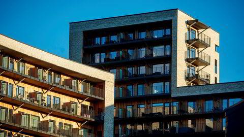Boliger i Nydalen i Oslo.