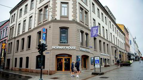 Norway House på Karl Johan i Oslo er en av Norway Shops souvenirbutikker.