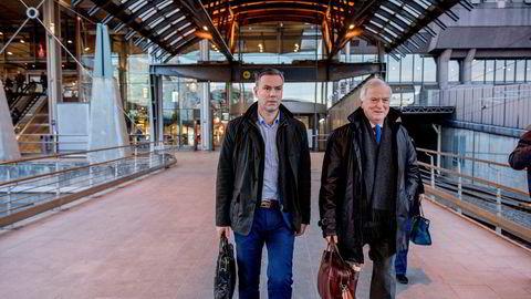 Fra venstre: Per Sævik og Njål Sævik. Selskapet har nå kommet til enighet om en refinansiering av det kriserammede selskapet.