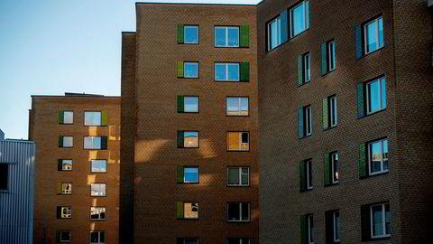 Med lesernes hjelp gir DN oversikt over hva som er markedets beste boliglånsrente. Bildet er tatt ved Nydalen i Oslo.