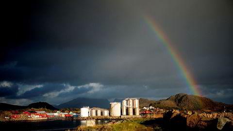 Om du jobber i et direktorat og ønsker å bo i Lofoten, kan du ta jobben med deg. Her: Ballstad.