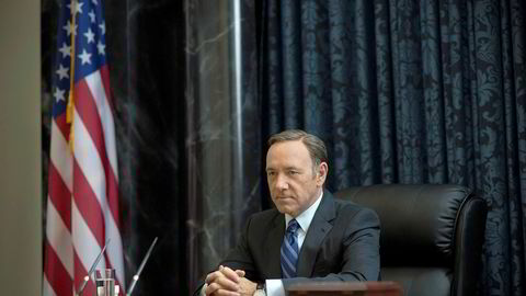 Kevin Spacey i «House of Cards».