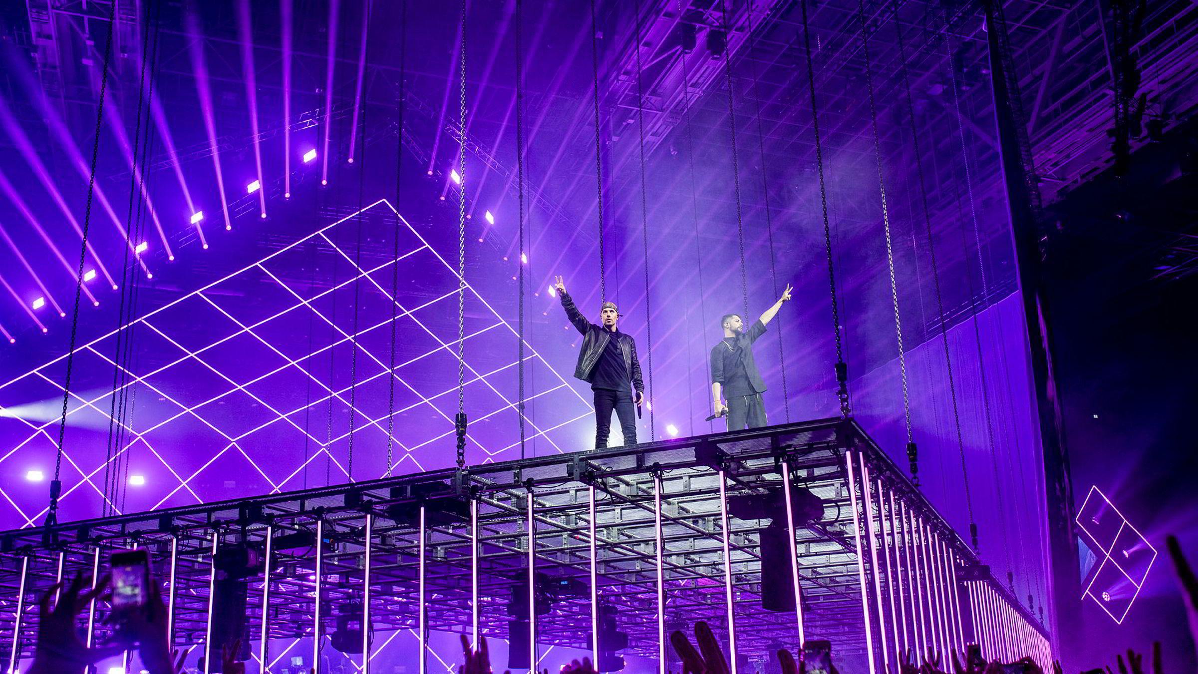 Karpe Diem-duoen Magdi Omar Ytreeide Abdelmaguid og Chirag Rashmikant Patel holdt tre utsolgte konserter på rad i Oslo Spektrum i fjor. Det ga rekordomsetning for rapduoen – som likevel ikke tar utbytte etter rekordåret.