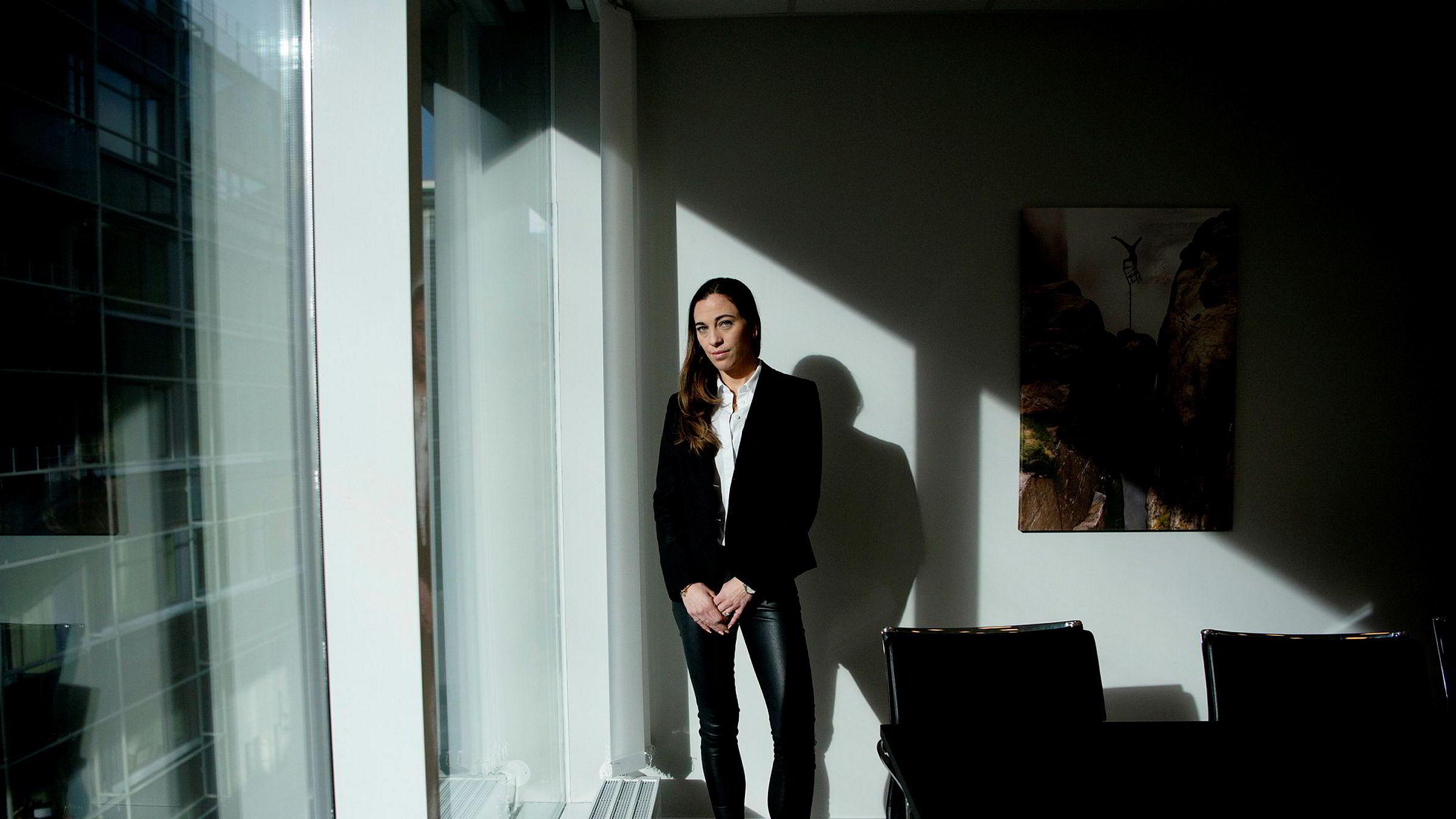 Cathrine Poulsen er direktør for boligselgerforsikring i Protector. Hun er uenig i Finansklagenemndas konklusjon i saken om skjeggkre i et hus i Bergen.