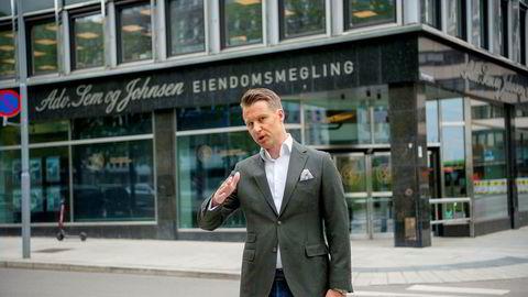 Christoffer Askjer vil at det skal legges ned et forbud mot ren provisjonslønn for eiendomsmeglere.