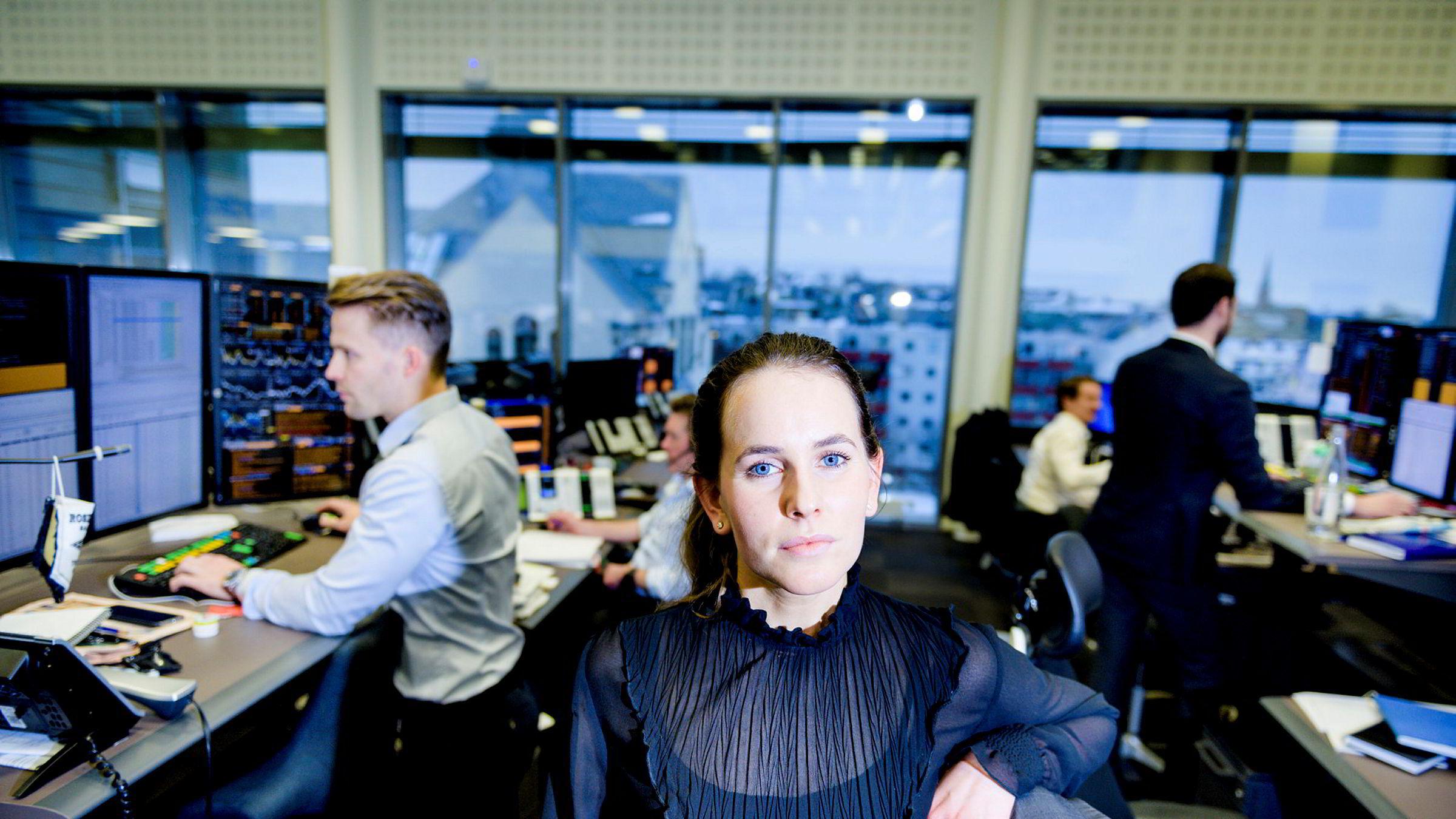 Analytiker i DNB Markets, Ingvild Borgen Gjerde, sier det fortsatt vil være store svingninger på børsen.