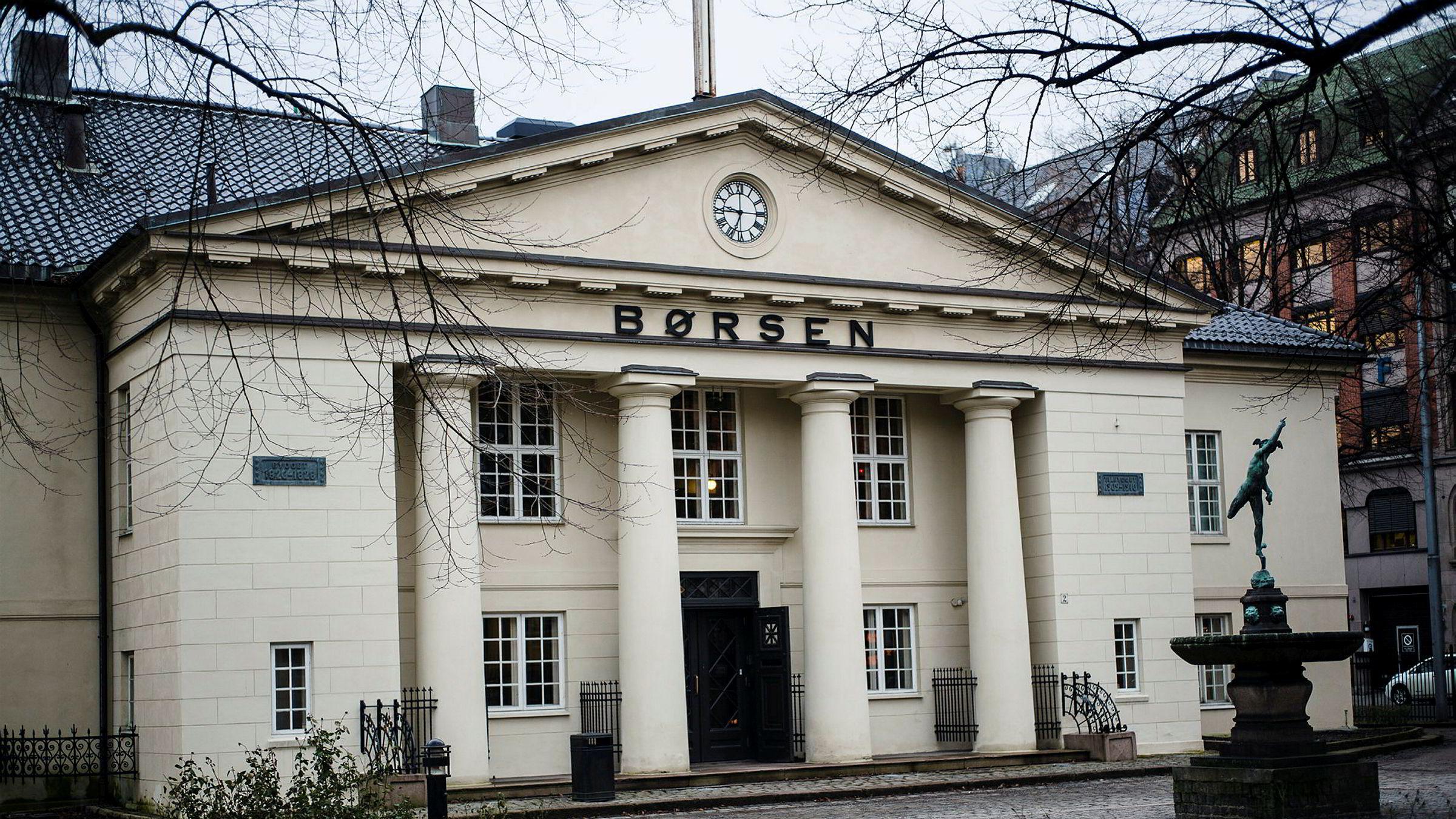 Hovedindeksen på Oslo Børs har levert 12,9 prosent avkastning så langt i år.