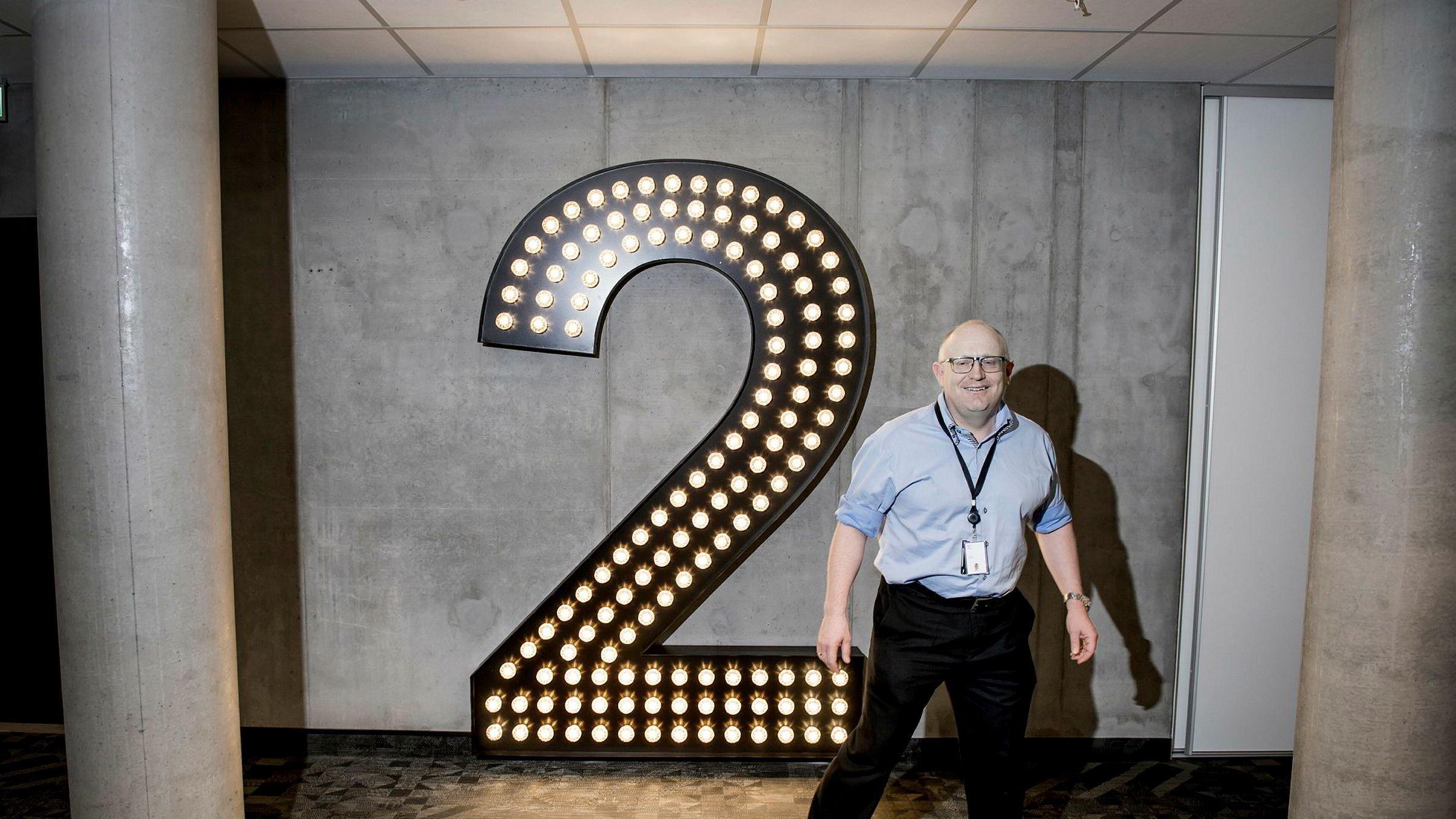 Sumo-sjef Christian Birkeland får hendene fulle hvis TV 2 lar alle Canal Digital-kundene strømme TV 2-kanalene gratis fra natt til 1. juni.
