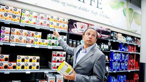 Nestlé rapporterer om et mer utfordrende dagligvaremarked. I fjor hadde selskapet den laveste veksten på flere år. Her er Vladimir Wendl Ibarra, daglig leder for Nestlé Norge.