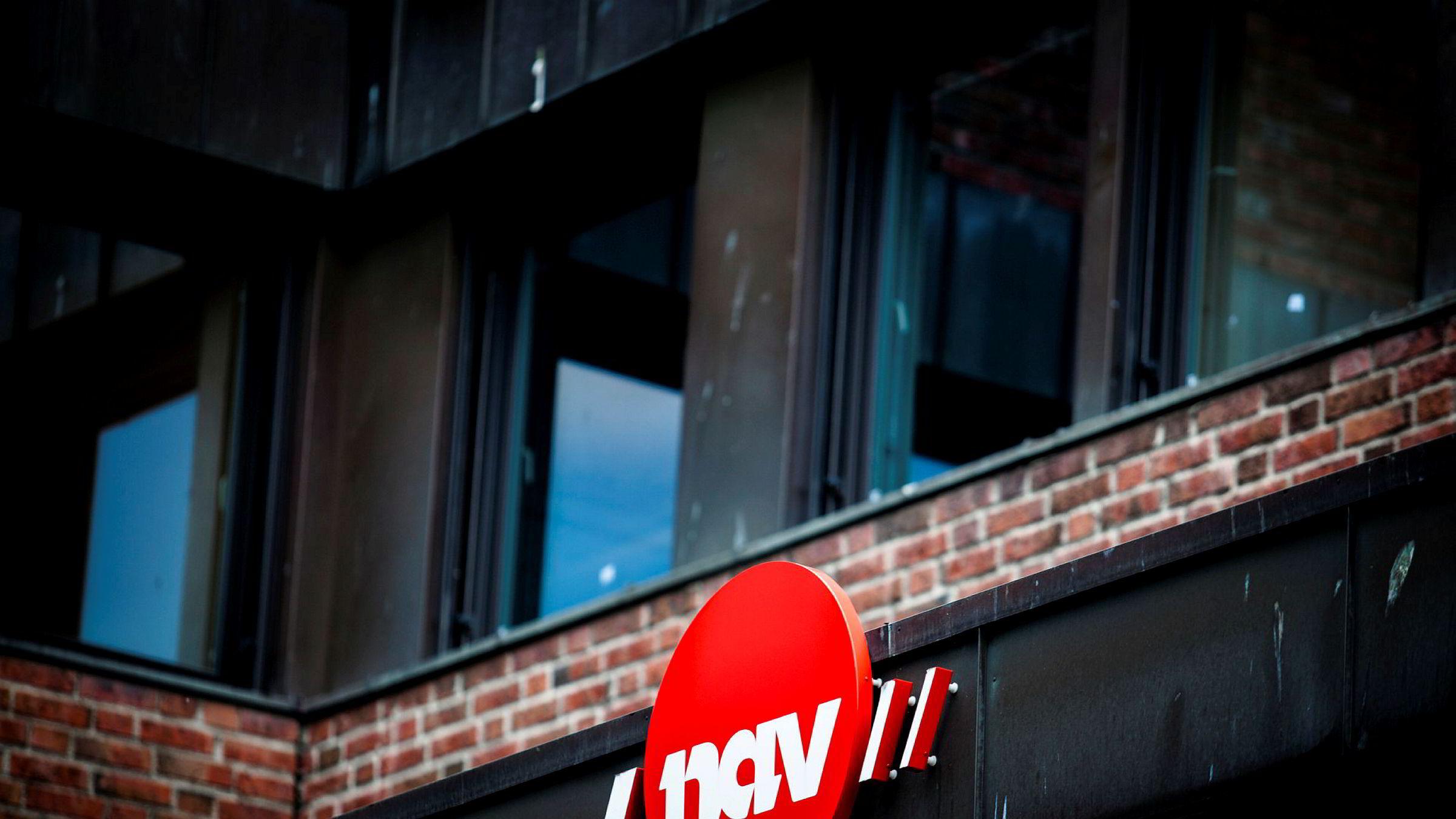 Nav-kontoret på Tøyen i Oslo.