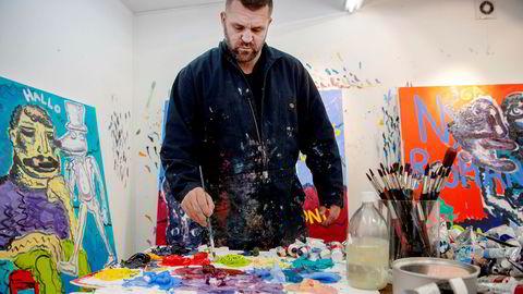 Bjarne Melgaard er en av Norges mest anerkjente og profilerte samtidskunstnere.