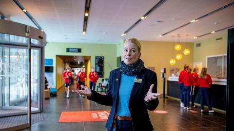 Hotelldirektør Anja Syversen-Hjellestad på Thon Hotel Oslo Airport er evig optimist, men erkjenner at det ser mørkt ut.